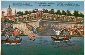 Ulm Donau Schneider Boote Kat. Ulm