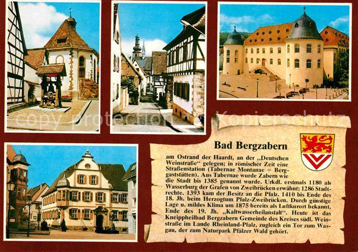 bad bergzabern hunsbach plaetzel bergkirche pfargasse schloss altes rathaus marktplatz kat bad. Black Bedroom Furniture Sets. Home Design Ideas