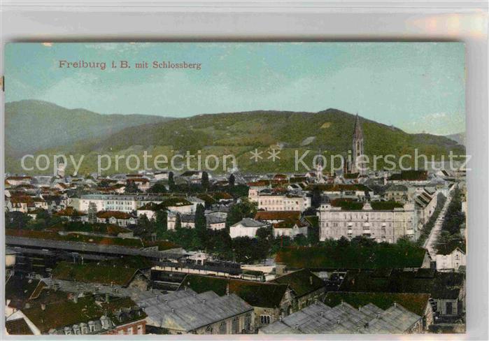 Freiburg Breisgau Schlossberg Muenster Kat. Freiburg im Breisgau