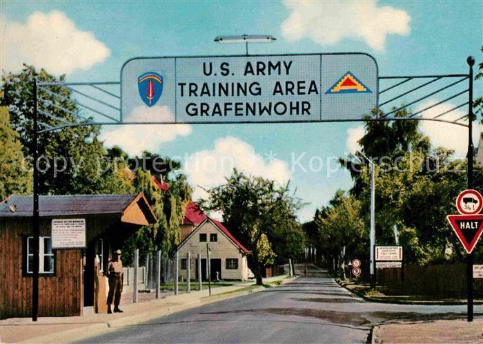 Grafenwoehr Truppenuebungsplatz U.S. Army Kat. Grafenwoehr
