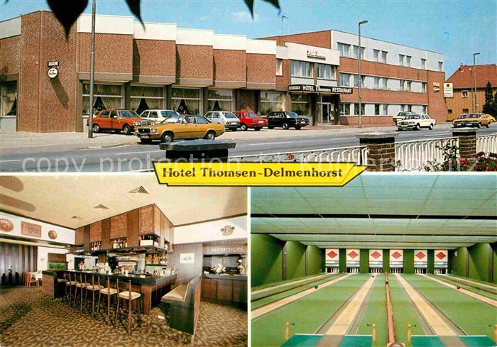 Ak delmenhorst hotel zur post bremerstrasse for Hotel delmenhorst