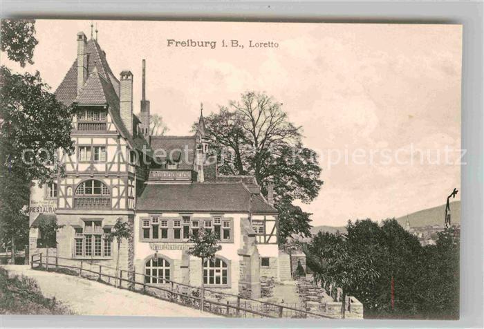 Freiburg Breisgau Loretto Kat. Freiburg im Breisgau