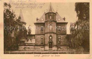 Sedan Ardennes Schloss Bellevue Kat. Sedan