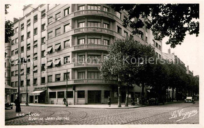 Lyon France Avenue Jean Jaures Kat. Lyon
