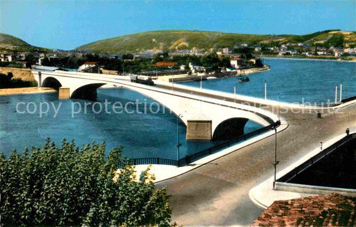 Vienne sur le Rhone Pont sur le Rhone  Kat. Vienne Isere