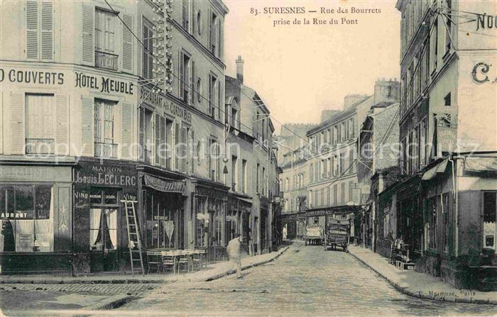 Suresnes Rue des Bourrets Kat. Suresnes