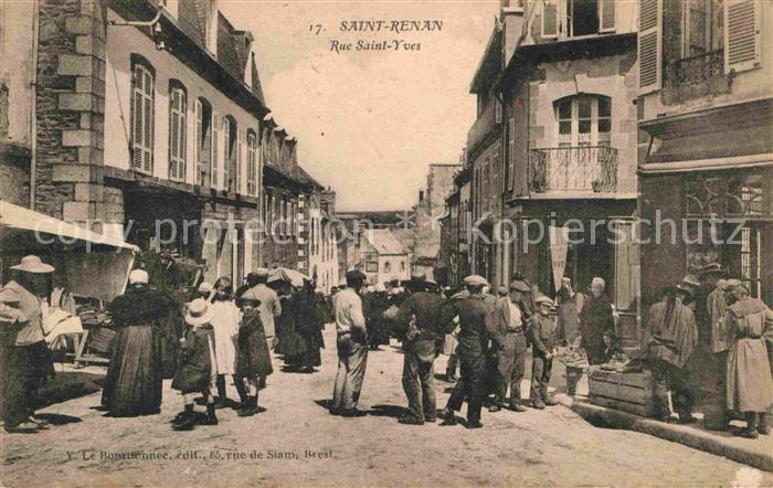 Saint Renan Rue Saint Yves Kat. Saint Renan