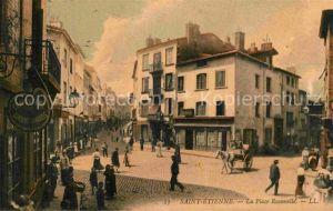 Saint Etienne Loire La Place Roanelle Kat. Saint Etienne
