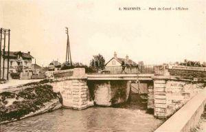 Migennes Pont du Canal L`Ecluse Kat. Migennes