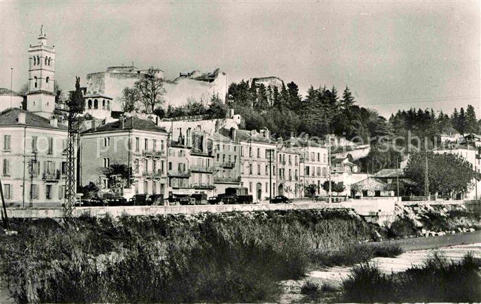 Montelimar Chateau des Adhemar Clocher des Carmes Kat. Montelimar