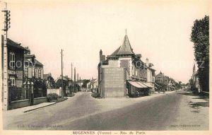 Migennes Rue de Paris Kat. Migennes