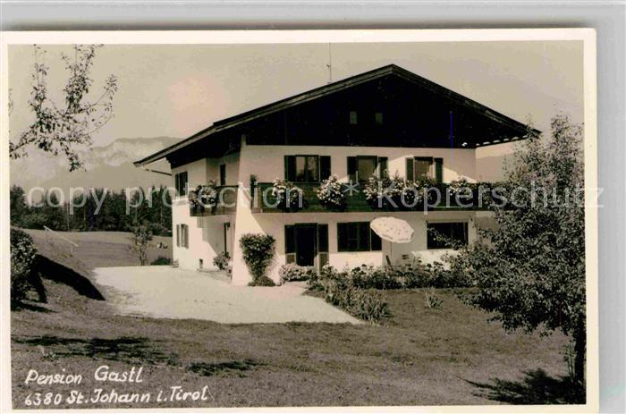 St Johann Tirol Pension Gastl Kat. St. Johann in Tirol