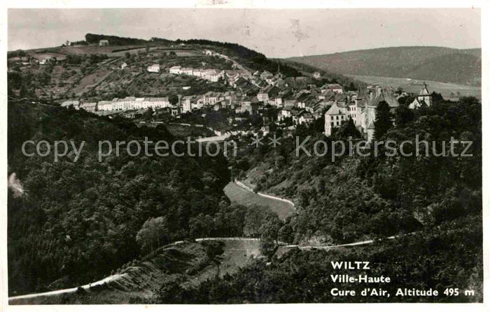 Wiltz Luxembourg Teilansicht  Kat. Luxemburg