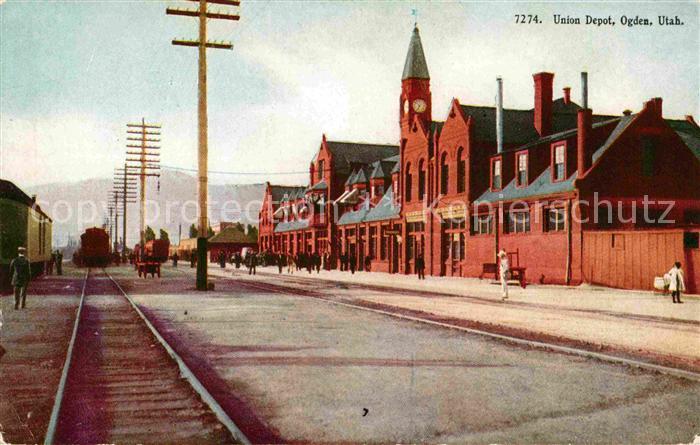 Ogden Utah Union Depot Kat. Ogden