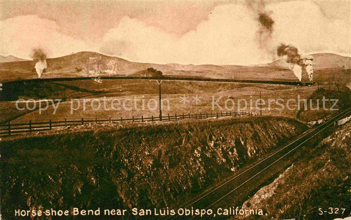 San Luis Obispo Horse shoe Bend  Kat. San Luis Obispo