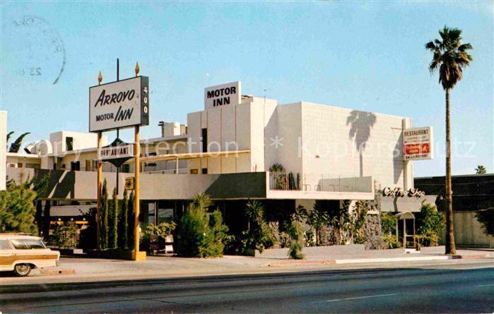 Pasadena California Arroyo Motor Inn Kat. Pasadena