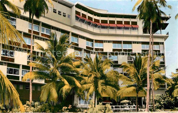 Douala Hotel des Cocotiers Kat. Douala