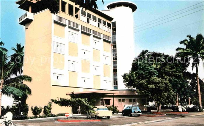 Douala Hotel les Cocotiers Kat. Douala