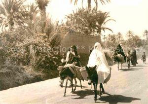 Erfoud Femmes se rendant au marche Kat. Marokko