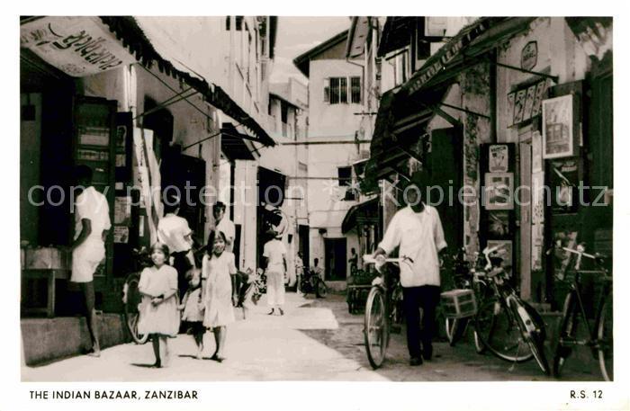 Zanzibar Indian Bazaar Kat. Zanzibar