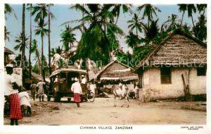 Zanzibar Chwaka Village Kat. Zanzibar