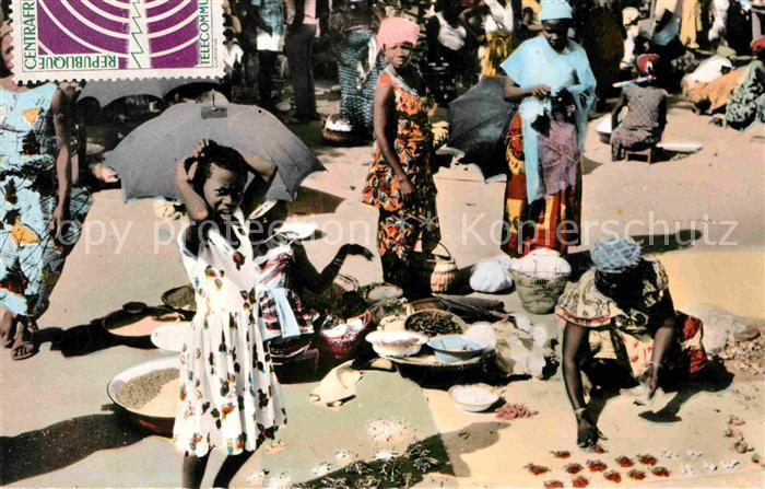 Bangui Le Marche Kat. Bangui