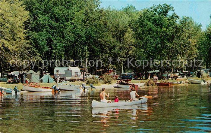 Michigan US State Gun Lake