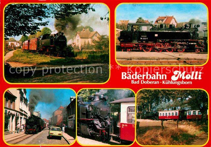 lokomotive baederbahn molli bad doberan kuehlungsborn kat eisenbahn nr kv77532 oldthing. Black Bedroom Furniture Sets. Home Design Ideas