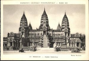 Events Exposition Coloniale Internationale Paris Angkor Vat  / Events /