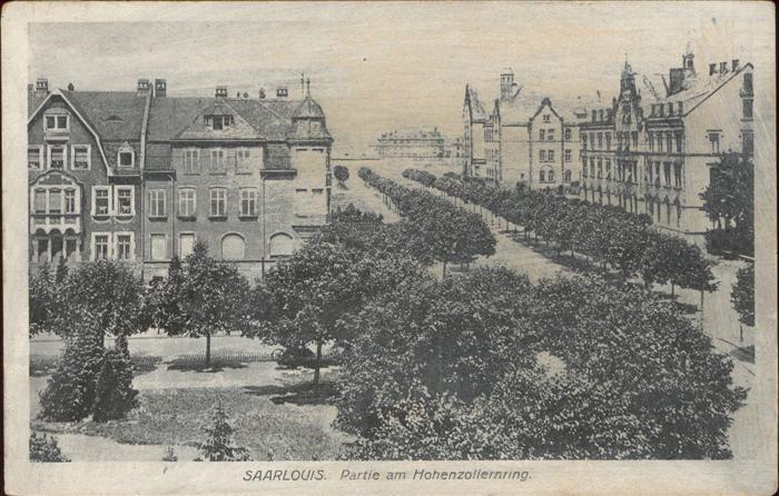 Saarlouis Hohenzollernring Kat. Saarlouis