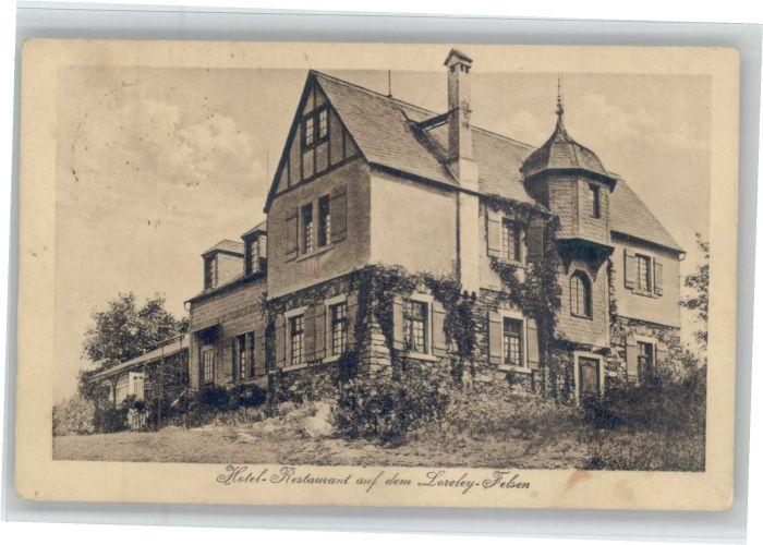 Loreley Lorelei Loreley Hotel auf der Loreley x / Sankt Goarshausen /Rhein-Lahn-Kreis LKR