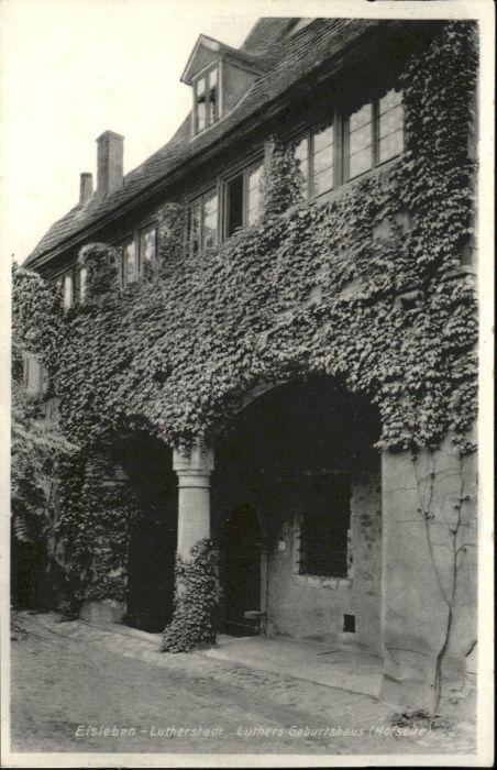 Eisleben Eisleben Luthers Geburtshaus x / Eisleben /Mansfeld-Suedharz LKR