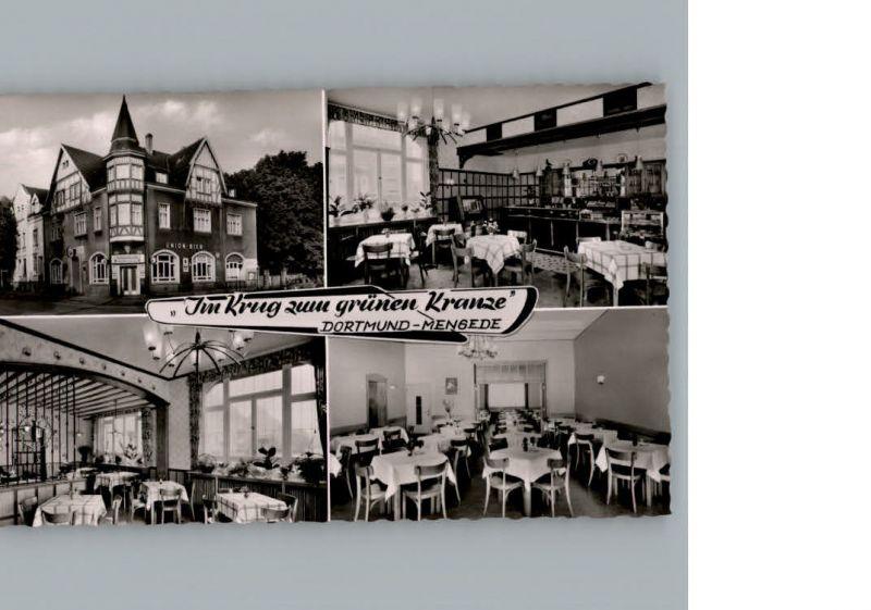 AK / Ansichtskarte Mengede Gasthaus Im Krug zum gruenen Kranze / Dortmund /Dortmund Stadtkreis