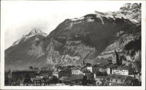 AK / Ansichtskarte St Maurice Valais La Dent du Midi Kat. St Maurice