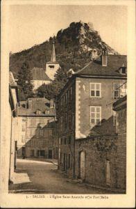 Salins Eglise Saint-Anatoile Fort Belin *