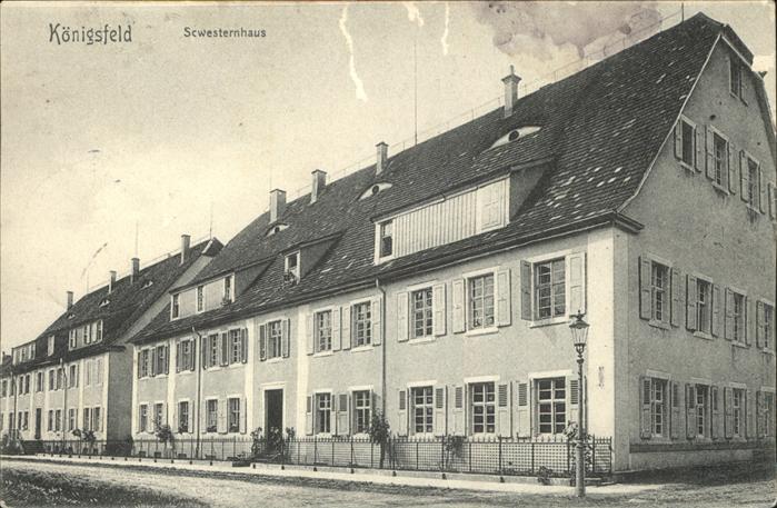 AK / Ansichtskarte Koenigsfeld Schwarzwald Schwesternhaus / Koenigsfeld im Schwarzwald /Schwarzwald-Baar-Kreis LKR