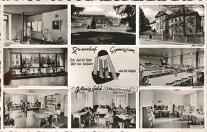 AK / Ansichtskarte Koenigsfeld Schwarzwald Zinzendorf Gymnasium  / Koenigsfeld im Schwarzwald /Schwarzwald-Baar-Kreis LKR
