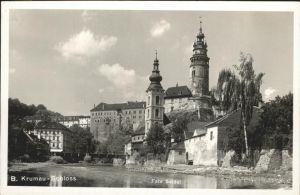 Krumau Tschechien Schloss Kat. Cesky Krumlov