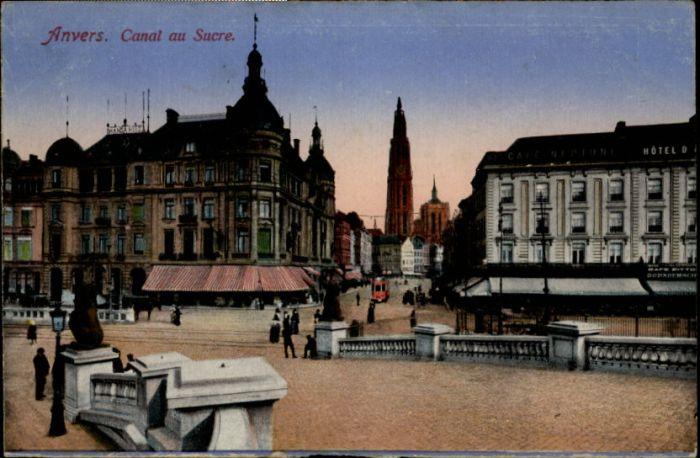 Anvers Antwerpen Anvers Canal au Sucre * /  /