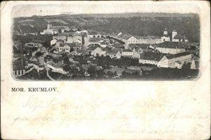 Cesky Krumlov Mor. Krumlov Moldau Panorama / Krumau /