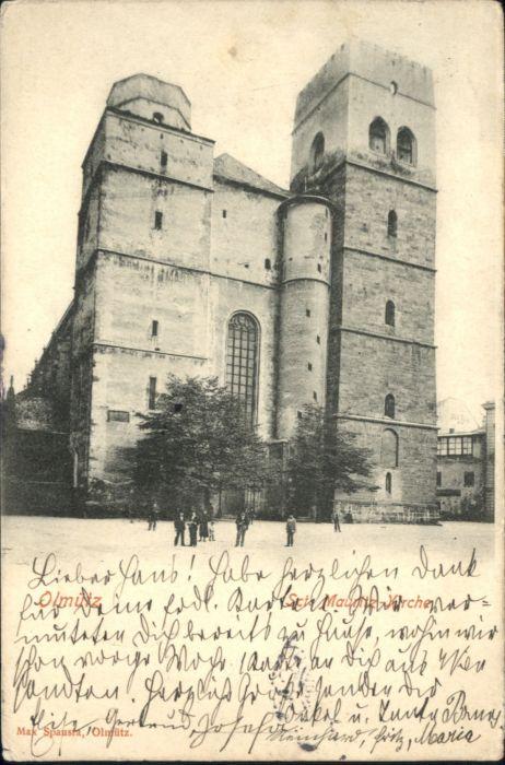 Olmuetz Olomouc Olmuetz St Mauritz Kirche  x / Olomouc /