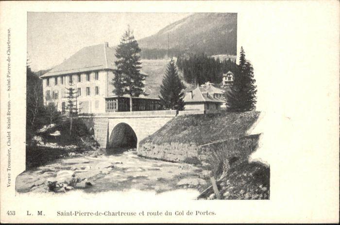 Saint-Pierre-de-Chartreuse Route Col de Portes *