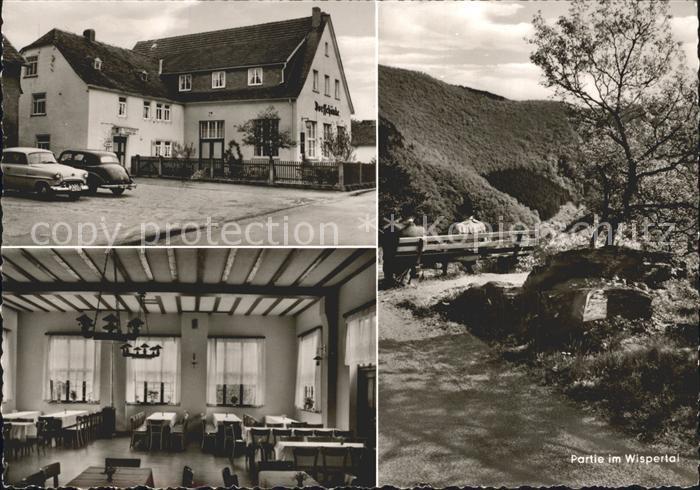AK / Ansichtskarte Wispertal Restaurant Pension zur Dorfschaenke Nr ...