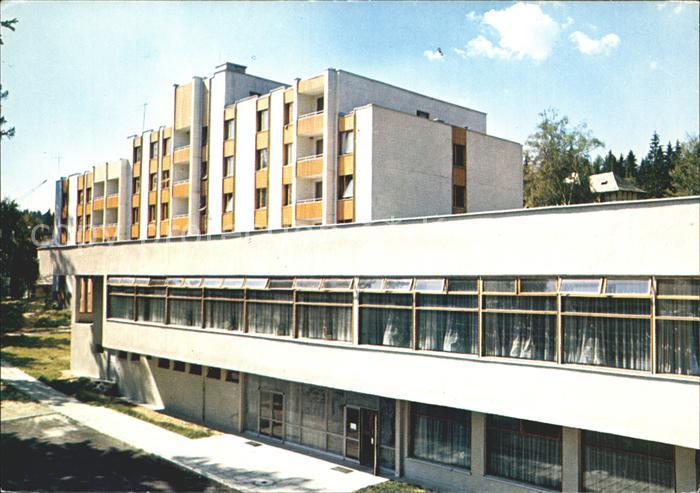 AK / Ansichtskarte Tatranska Lomnica Hotel Slovan Hohe Tatra Kat. Tschechische Republik