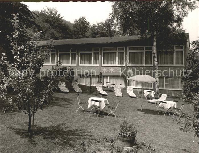 AK / Ansichtskarte Hann. Muenden Parkhotel Garten Kat. Hann. Muenden