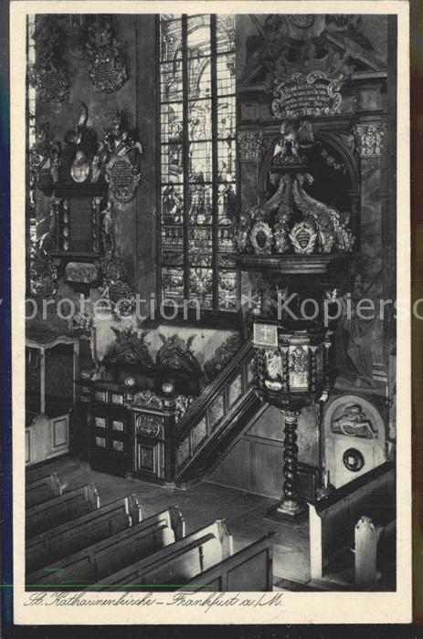 AK / Ansichtskarte Frankfurt Main St Katharinenkirche Kat. Frankfurt am Main