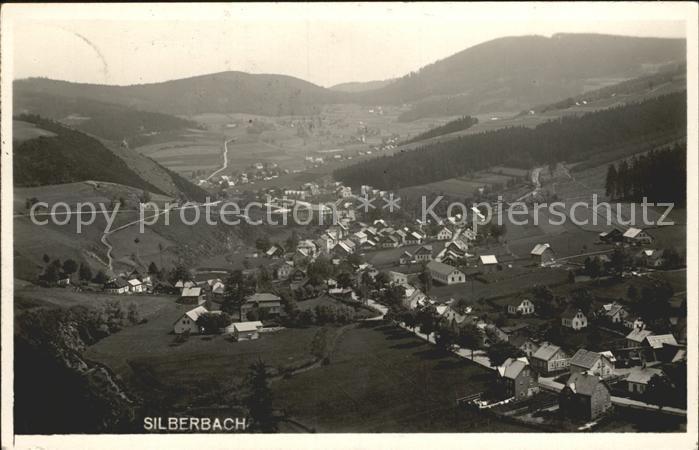 AK / Ansichtskarte Silberbach Stribrna  / Silberbach /