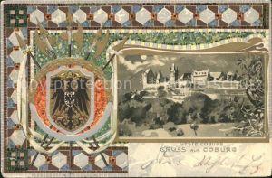 AK / Ansichtskarte Coburg Festung / Coburg /Coburg LKR