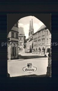AK / Ansichtskarte Goerlitz Sachsen Untermarkt Wappen Kat. Goerlitz