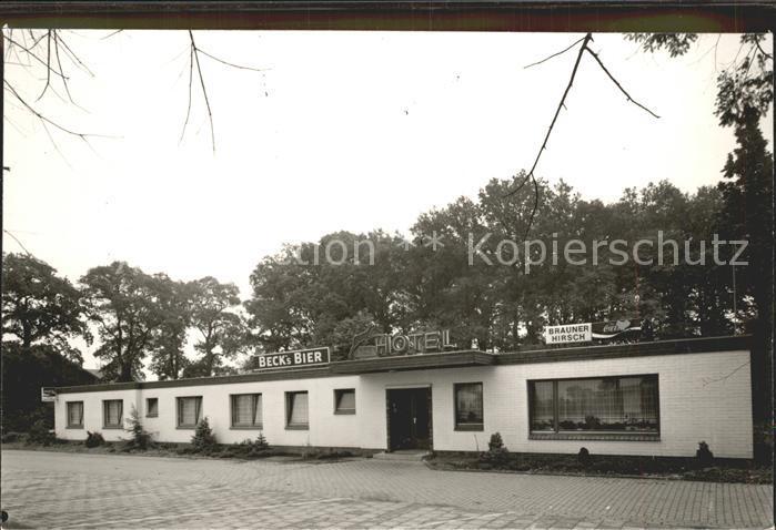 AK / Ansichtskarte Langendamm Friesland Hotel Brauner Hirsch Kat. Varel
